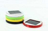 roundness  window stickers solar charger 2500mah power bank for  iPhone/iPad/Mobile Phones/Tablet PC/GPS/PSP/MP3