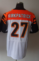 #27 Dre Kirkpatrick Men's Elite White Football Jersey