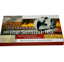 Jinshenkang The Sensual Tea 100% Natural Herbal Improve Sexual Life Sex Product 5 Bags Free Shipping