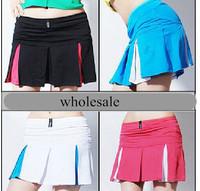 100%cotton women dress with  plus size  high quality tennis sport skirt
