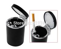 Portable Car Auto LED Light Smokeless Ashtray Cigarette Holder