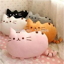 40*30cm plush toy stuffed animal doll,talking anime toy pusheen cat for girl kid kawaii,cute cushion brinquedos(China (Mainland))