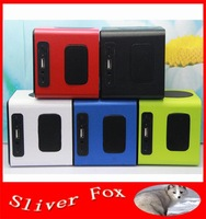 New Touching Button Speaker Portable HIFI Mini wireless bluetooth FM Radio MP3 Player Amplifier with NFC for PC/iPad
