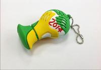2014 The Brazilian World Cup shape 4GB/8GB/16GB/32GB/64GB usb flash drive flashdrive memory stick pendrive