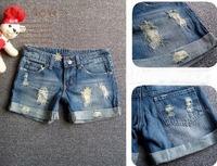 CL1640 Women Jeans Butt-lifting Ladies Shorts Jean Best-Selling Fashion Cotton Denim Pants Casual Short Hot