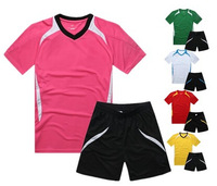 free shipping,2014 world cup man plain soccer uniform set.