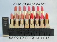 Free shipping  New HYDRATING CREME LIP COLOUR lipstick 3.5g (15pcs/lot)