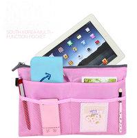 Multi-function Organizer Storage Bag Single Zipper Nylon Organizer Bag Travel Storage Bag Set 5 Color