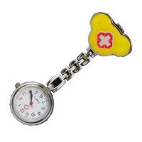 100PCS Red Cross Design Nurse Portable Pocket Pendant Watches Free Shipping