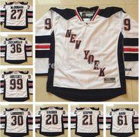 #99 Wayne Gretzky#20 Chris Kreider#21 Derek Stepan White New York Rangers 2014 Stadium Series Stitched ice hockey jerseys cheap