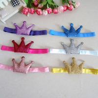 New Beautiful Crown Headband Hairband Baby Girls Hairbands Kids' Hair Accessories Baby Christmas Gift  1406HAB002