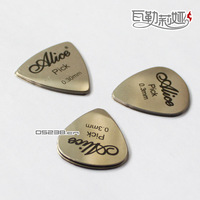 10pcs* Guitar picks metal guitar picks stainless steel guitar picks Thickness 0.3mm(waterdrop-shaped/Heart-shaped/Triangle)