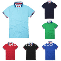 2014 new men t shirt Men's Fashion Short Sleeve T Shirts men's sport t-shirt Good Quality Free Shipping
