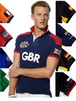 Fashion brand horseT Shirt Men 2014 Summer For Mens Casual T Men's T-Shirt Man Sport T shirt camisa Polo  Free Shipping