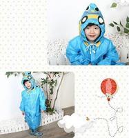 30pc Children Raincoat New Style Baby Animal Model Raincoat Kids Rain Coat Boys and Girls Rain cape Waterproof Coats Children Cl