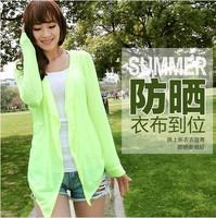 Long sleeve shirt Cotton women's casual shirt Rash Guards Free Shipping F4020