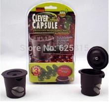 3Pcs/Pack Clever Coffee Tea Capsule Reusable Single Coffee Filter Keurig(China (Mainland))