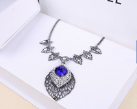 2014 elegant party dress jewelery wedding necklace female necklace for party dress short design chain