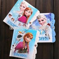Frozen Book frozen school supplies frozen notebooks for student frozen gift for kids 14.5*11cm Password notebook frozen
