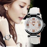 Free Shipping New Fashion Women leisure Dress Sport Watches Geneva Women Leather Watches Female Luxury Waterproof Wrist watches