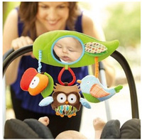 SKP Treetop Friends Stroller Bar Activity Toy Baby Carriage/Baby Seat/Bed Hanging Toy With Mirror SHD-957