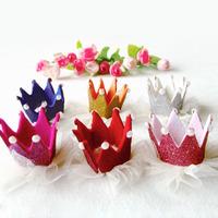 fashion baby girl crown hair band hair clips kids hair accessories hairband hair grips 1406HC001