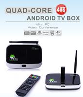 CS918 Android 4.2 TV Box A31S Quad Core 2G/16G Mini PC RJ-45 USB WiFi Antenna Smart TV Media Player Remote Bluetooth DHL Free