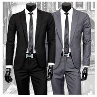 [bruce] 2014 new men's business casual suit wedding suit groom grooms man suits for men ternos Jacket + pants