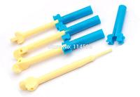Plastic Mini Rubber band Loom Hook Diy bracelet Knit device