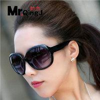 Hot Sale 2014 New Fashion coating sunglass Frog Mirror Sunglasse Arrival Men Women Loved Unisex Sunglasses black/tan Colors