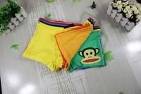 The factory wholesale The boy's underwear wholesale boxer bamboo fiber underwear cartoon free shipping