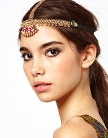 New 2014 Fashion Shiny Boho Crystal Tassels headband head chain Hair Bands wedding Hair Accessories For Women