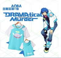 New DRAMAtical Murder N+C DMMD Aoba Rabbit ears modelling T-shirt Anime Products Free Shipping Presell !