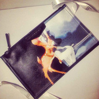 Free shipping 2014 fashion brand printted day clutch bags women's leather mini handbags small bags y0571