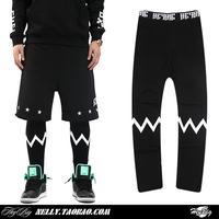 Thin air legging trousers harajuku rock style women and men sport leggings fashion legging pants BF-28