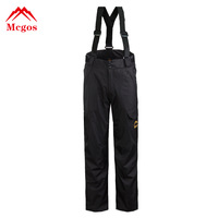 new arrival men pants Outdoor sports band trousers pockets fur removable climbing XXXL winter warm A+++ 3XL 40 waterproof skiing