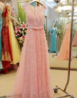 free shipping new 2014 luxurious luxury crystal wedding toast PROM dress, evening dress costumes dress
