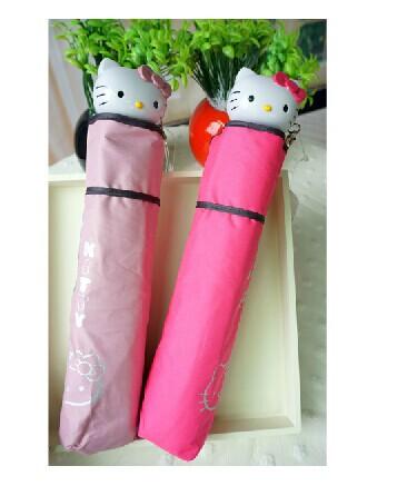 Free shipping Three folding Vinyl umbrella,cartoon umbrella, children's umbrella(China (Mainland))