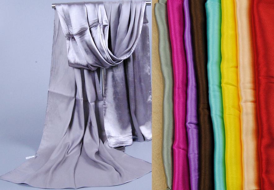 20 pcs/lot Free shipping 160*50 cms100% Santi silk feeling polyester scarf Muslim Hijab Shawl(China (Mainland))