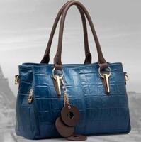 2014 Hot Promotion Fashion WEIDIPOLO Genuine Leather handbag women  new Fashion Shoulder Bag designer brand messenger bag