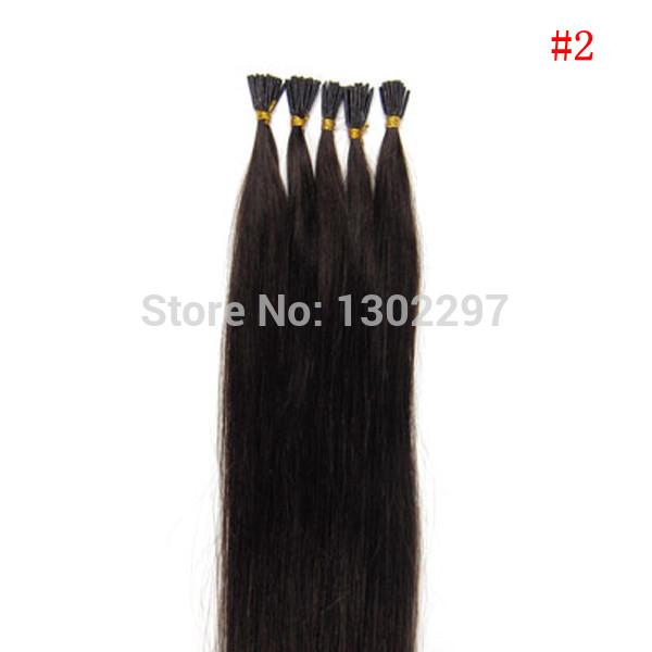 cabelo brasileiro reta cabelo cabelo virgem brasileira rainha #1 jet black eu ponta de queratina macio cola extensão do cabelo humano remy 100s(China (Mainland))