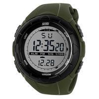 2014 New Fashion Skmei Military Watch Men Sports Quartz Watches Water Resistant 50m Diving Calendar Stop Watch
