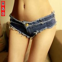 M&C S420 women summer fashion sexy denim shorts jeans brand