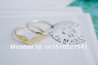 Wholesale - Korea Style Bird Finger Lover Ring Unisex Knuckle Ring Jewelry Birthday Gift color gold/silver/rose gold