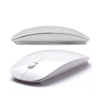 2.4G wireless optical mouse and mice 10M working distance super slim mouse For Computer PC mac Laptop Free Shipping
