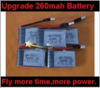 Wltoys V252 Upgrade Battery 3.7v 260mah battery wl v252 Quadcopter parts list