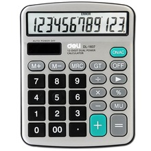 Office 1837 desktop calculator capable calculator solar energy computer special double(China (Mainland))
