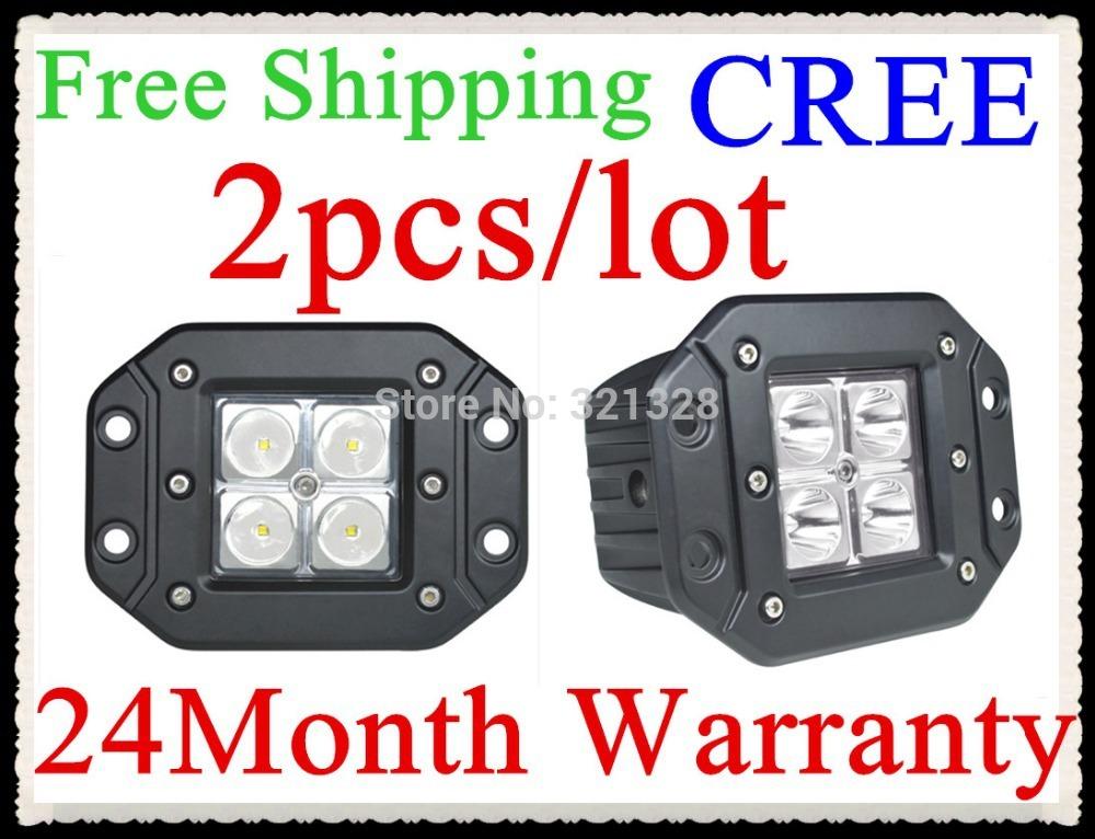 2pcs/lot 16w led pods LED light bar led work light for Off road,side by side ,4*4,ATV,UTV,buck led Free shipping(China (Mainland))