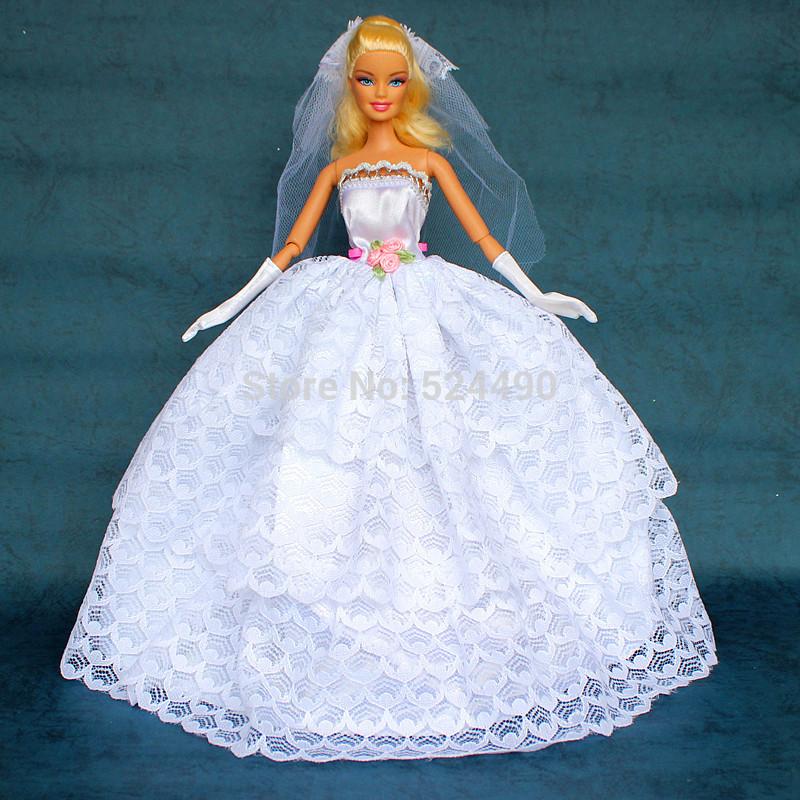 Как сшить свадебное платье своими руками барби7
