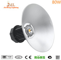 80W High Bay Light,  Factory hood lamp hanging tube   High Bay Lamp, Industrial  5 years warranty